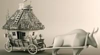 Первые дома на колесах